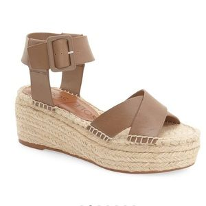 Sole Society Audrina Flatsform Espadrille Taupe